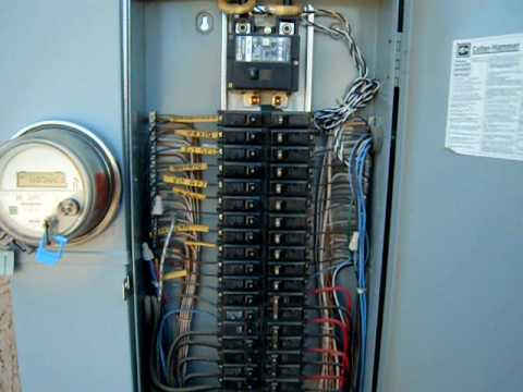 some electrical service in some homes may not be covered by rh actioninsurancegroup com Circuit Breaker Junction Box